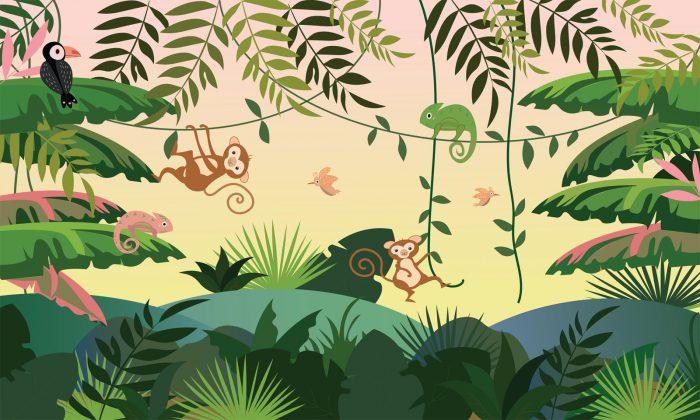 carta da parati Jungle