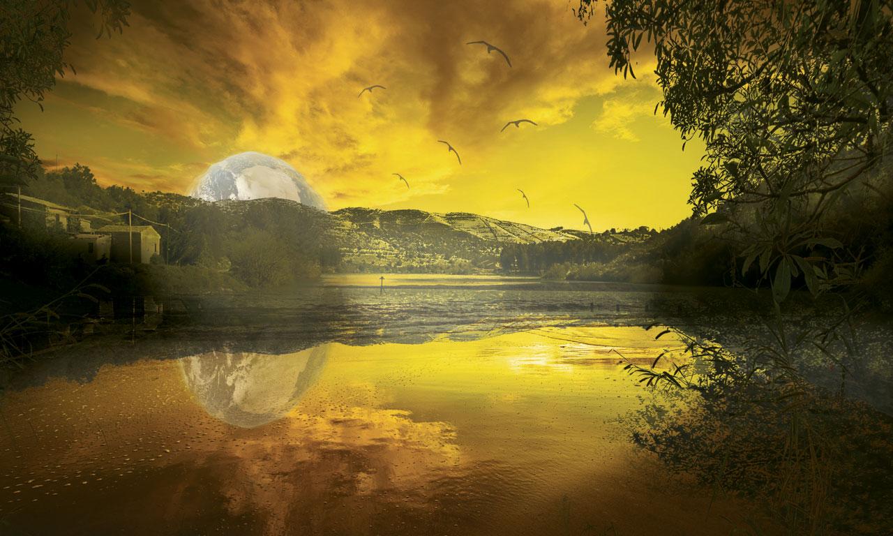 Yellow-Sun-texture