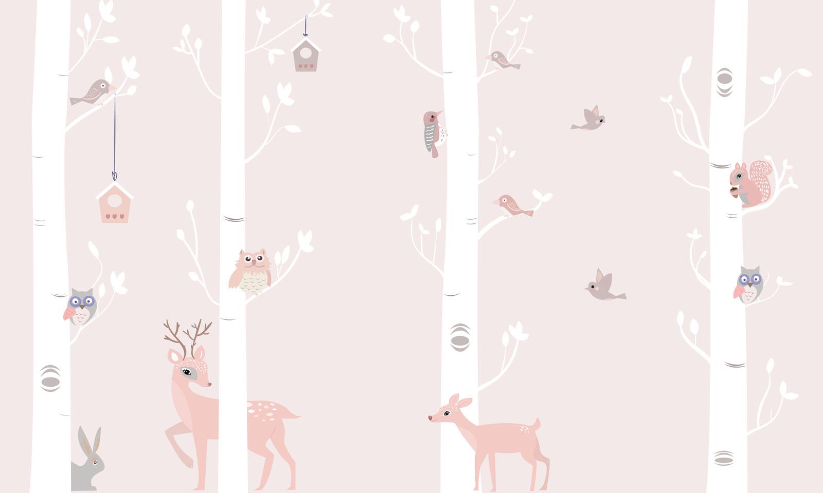 carta da parati Bambi